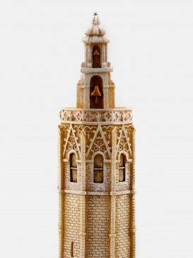 """Maqueta de la """"Torre Miguelete"""""""