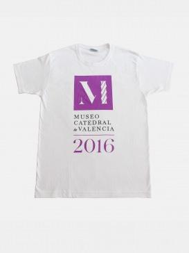 Camiseta Museo 2016 blanca